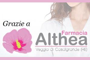 Main sponsor Memorial Previdi: Farmacia Althea Veggia di Casalgrande