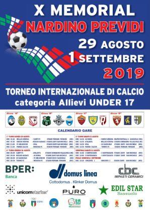 Memorial Previdi: pubblicato il calendario, Sassuolo-Helsingor inaugura il torneo